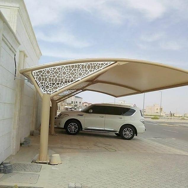 تركيب مظلات السيارات في محافظة حولي
